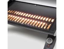 Elektrický gril GrandHall E-GRILL - detail litinového grilovacího roštu