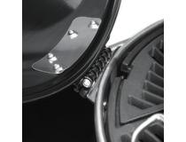 Gril na dřevěné uhlí Napoleon CHARCOAL 22-K LEG - detail uchycení víka